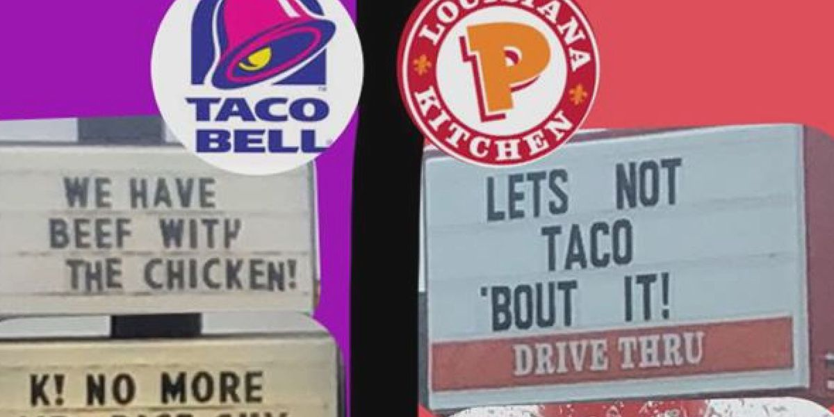 Dueling duo of restaurants battle over signs