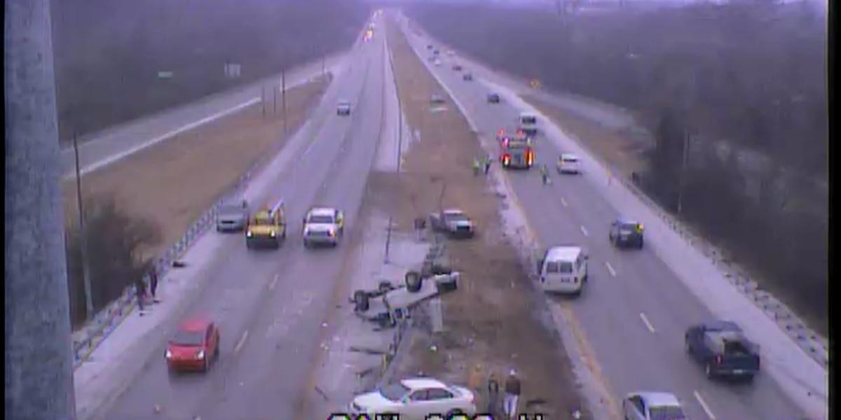 Winter weather makes driving dangerous in Louisville area