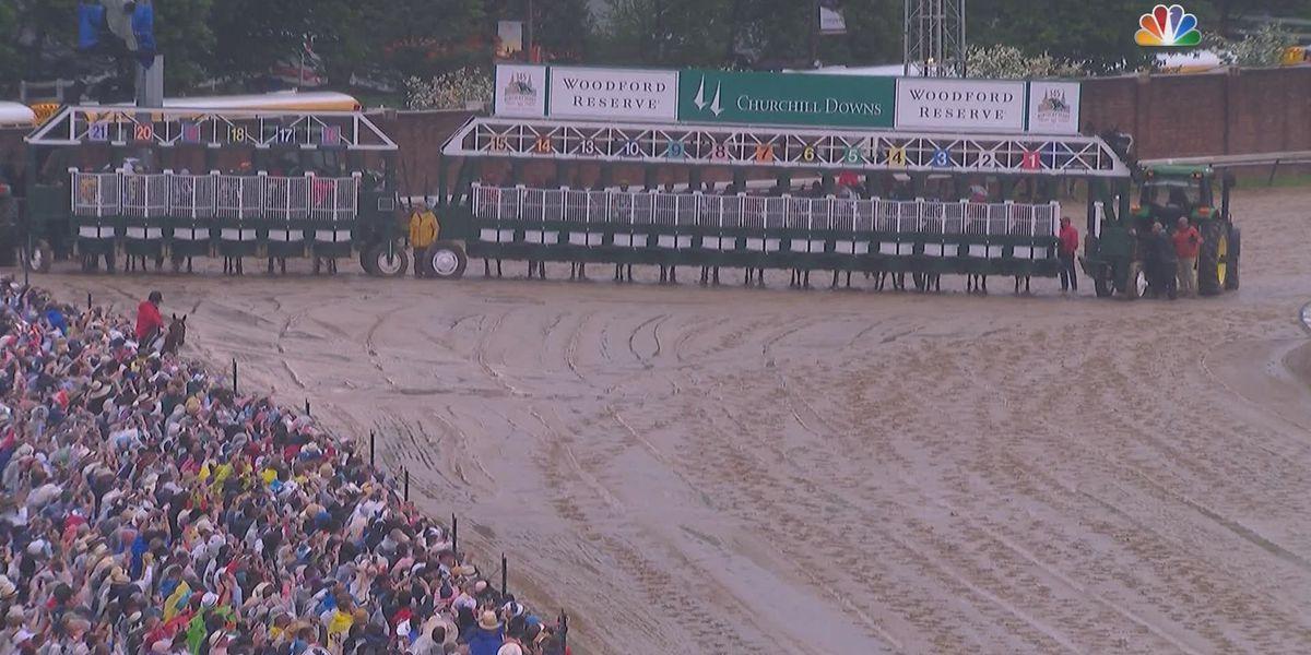 Churchill Downs investigates 20 horse starting gate