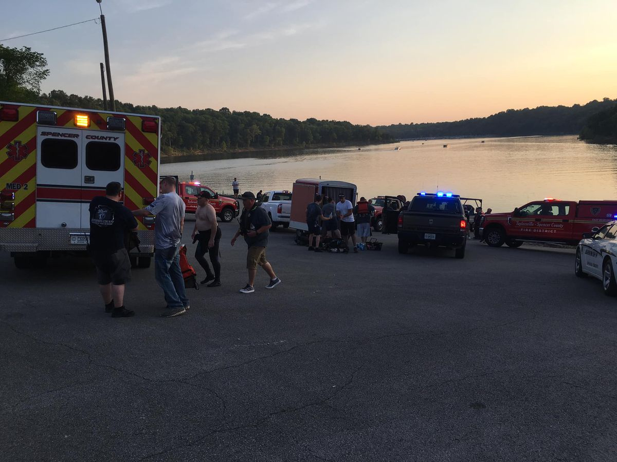 Person drowns in Taylorsville Lake