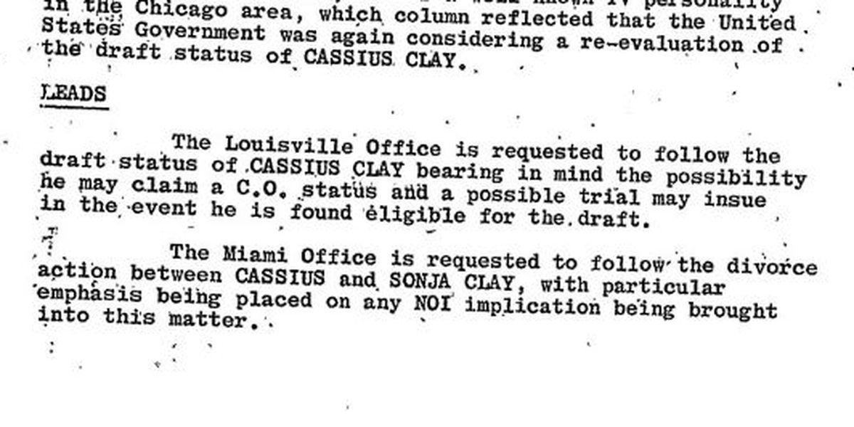 Muhammad Ali: The FBI Files