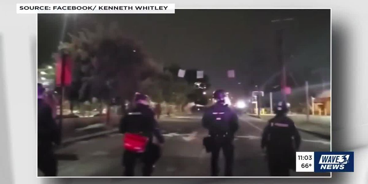 2 LMPD officers shot in downtown Louisville; gunfire caught on video
