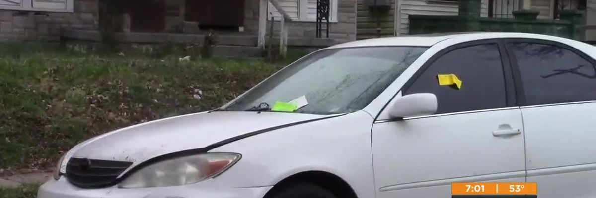 Full impound lot leaves abandoned cars littered on Louisville streets
