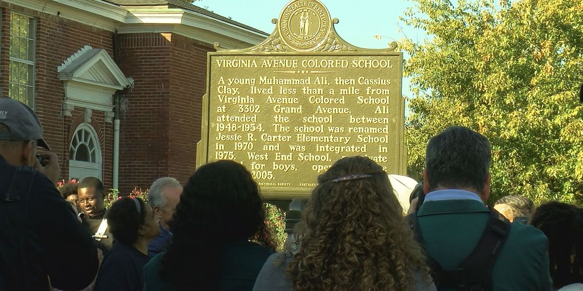 Muhammad Ali historical marker unveiled at West End School