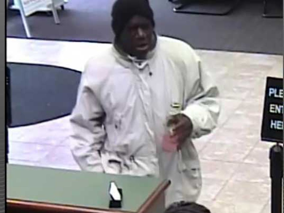 Police seeking suspect in Shively bank robbery
