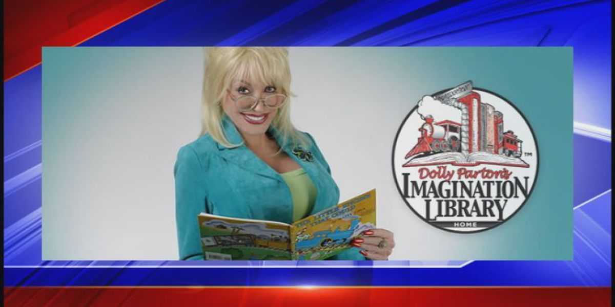 Dolly Parton's Imagination Library provides free books in local communities
