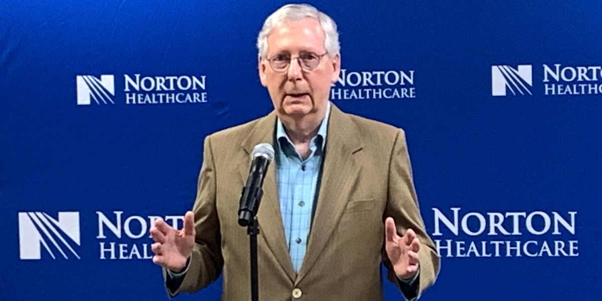 'It's stupid' : McConnell's warning to corporations opposing Georgia voting law