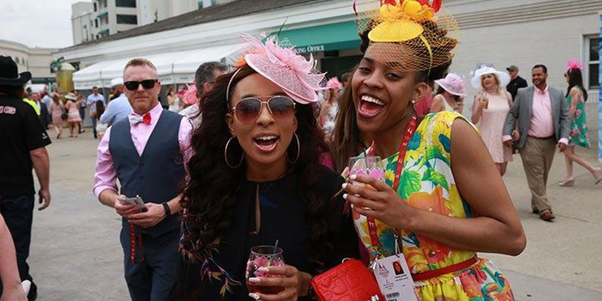 IMAGES: Oaks Day fashion