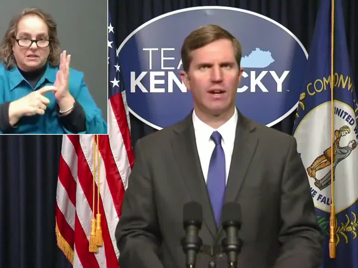 WATCH LIVE @ 4:00 : Governor Andy Beshear's March 1 COVID-19 briefing
