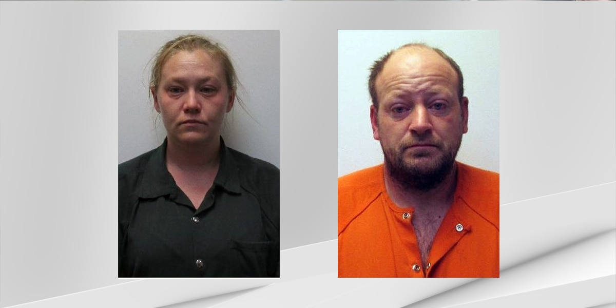 Two people arrested for meth, stolen rifle in Clark County
