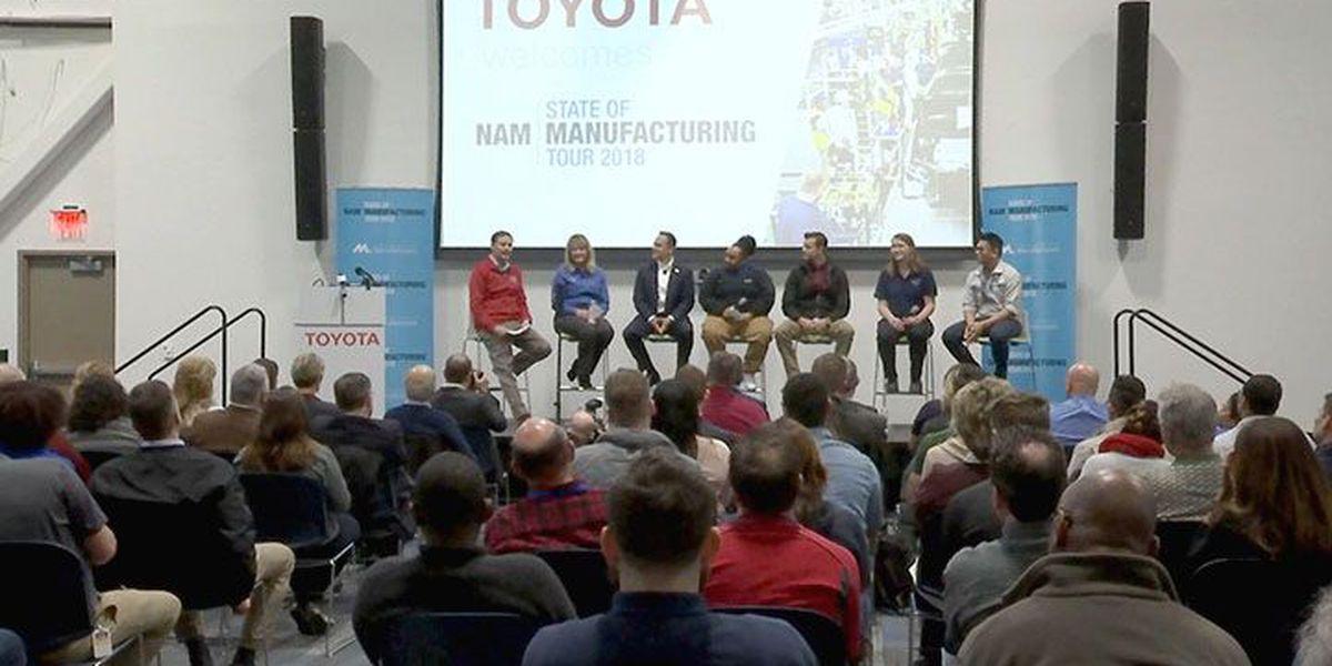 Bevin, NAM visit Toyota to talk Kentucky manufacturing
