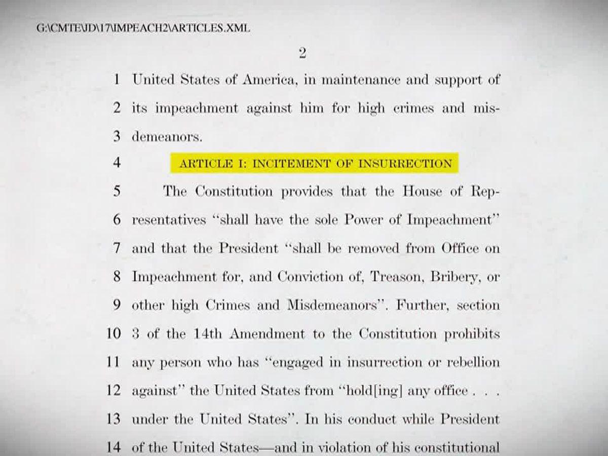 Senate rejects GOP motion to dismiss Trump impeachment trial