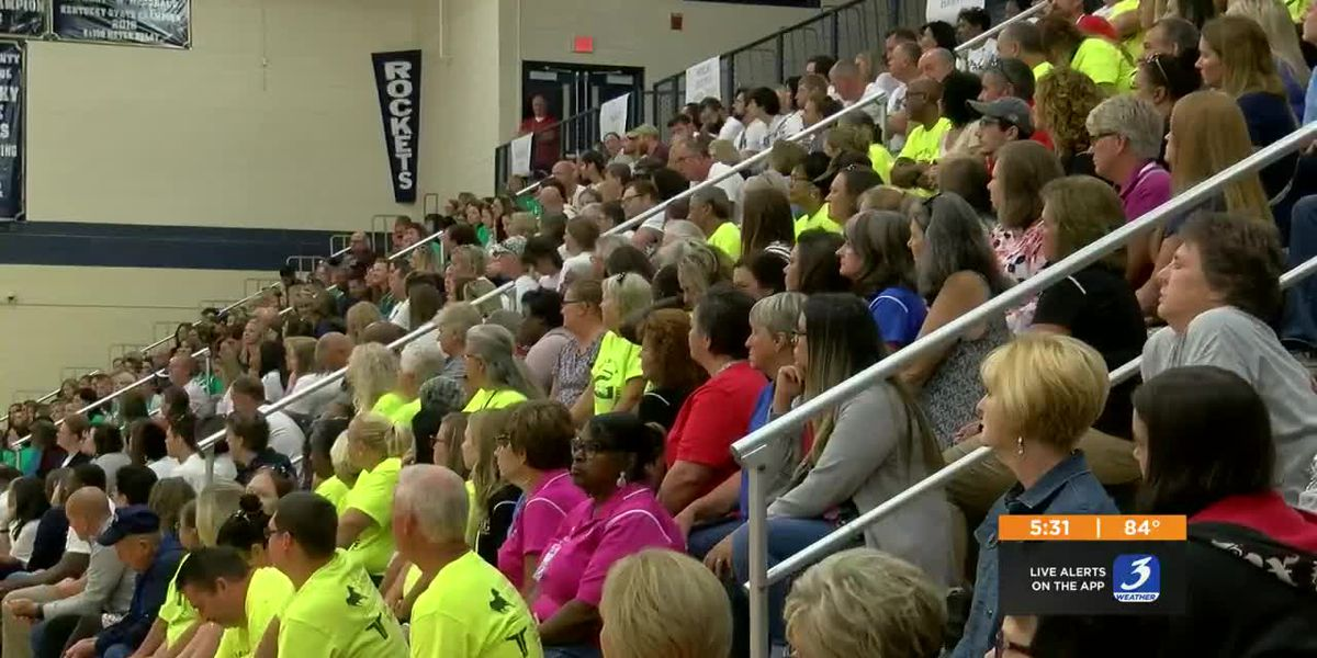 Shelby County High School celebrates before new school year
