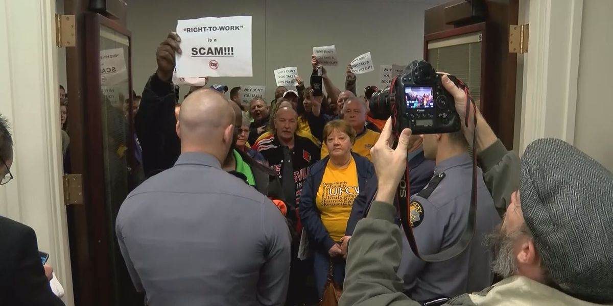 Despite union jeers, Right to Work, prevailing wage repeal fast-tracked for Saturday vote passage