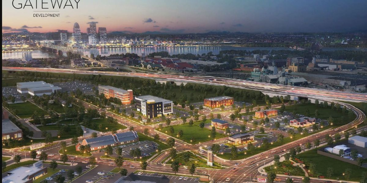 Jefferfsonville's $30 million Gateway Development to transform entryway from I-65