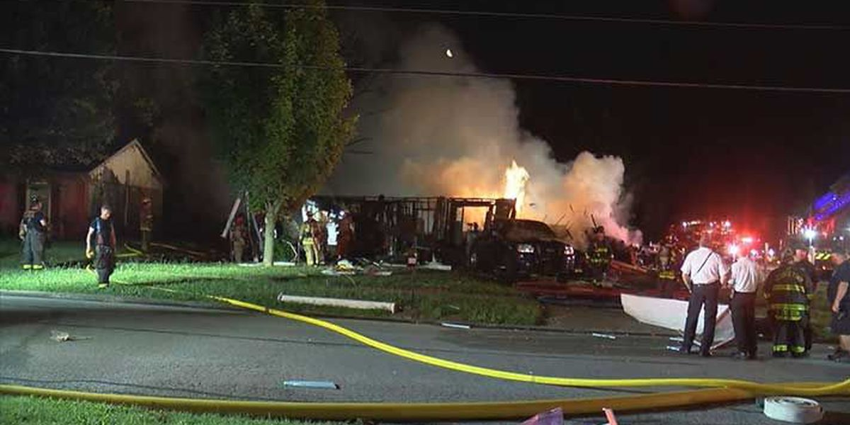 Police: Fire set on purpose that caused deadly Kentucky house explosion
