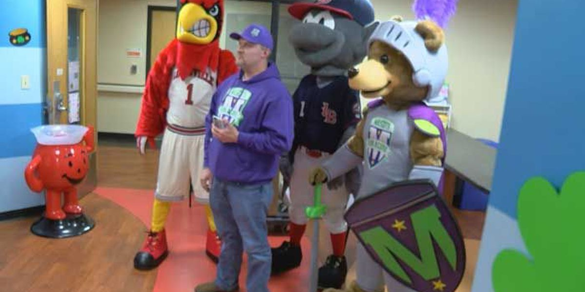Mascots for a Cure holds event at Norton Children's Hospital