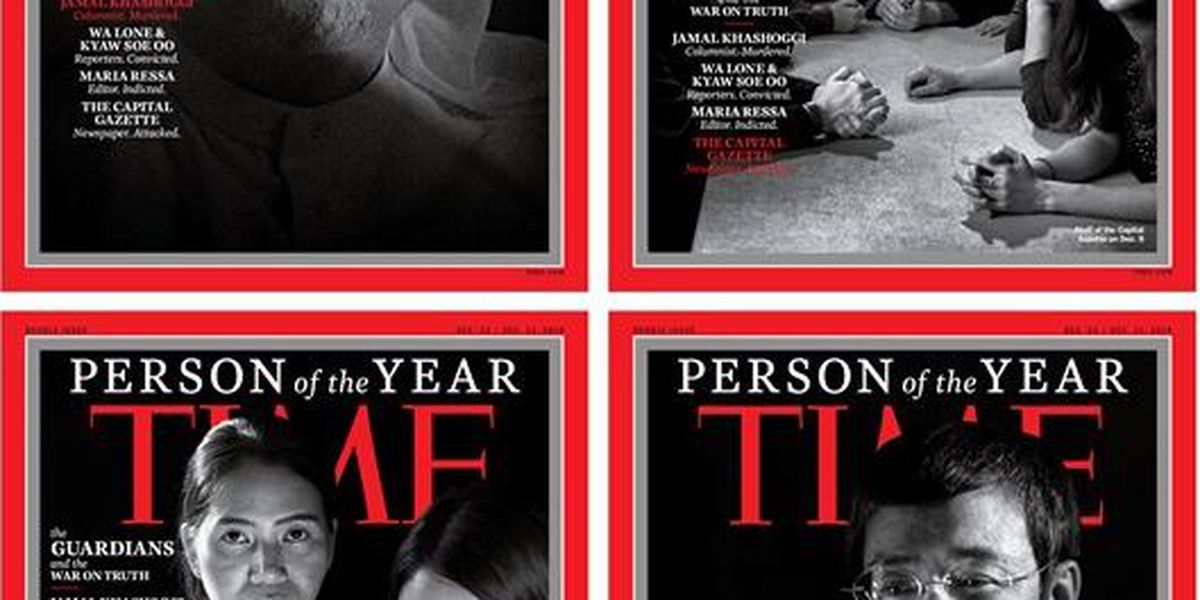 """""""The Guardians and the War on Truth"""" named Time's Person of the Year"""