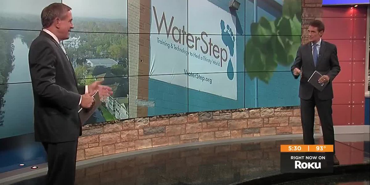 Local nonprofit Waterstep brings clean water to those in need
