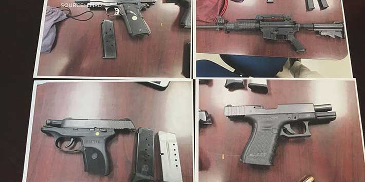 Police recover stolen guns from 17-year-old