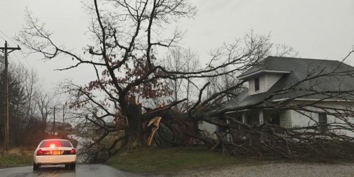 VIDEO: Kayla Vanover tours area storm damage