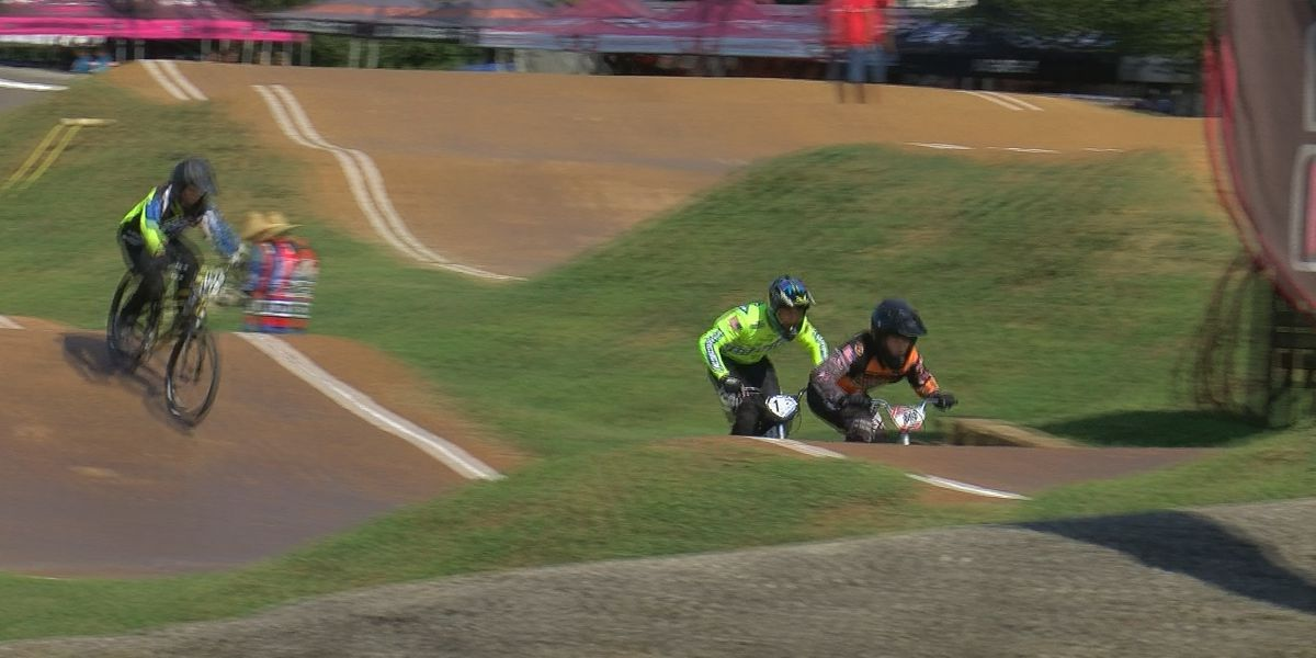 BMX riders in Louisville for GoPro Derby City Nationals