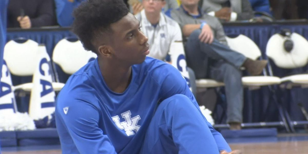UK's Diallo showing off leaping ability at NBA Combine