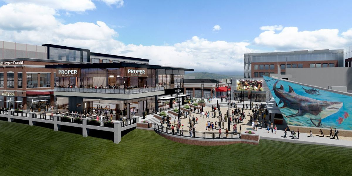 Food, fitness, and live music: Newport on the Levee is about to undergo a complete re-imagination
