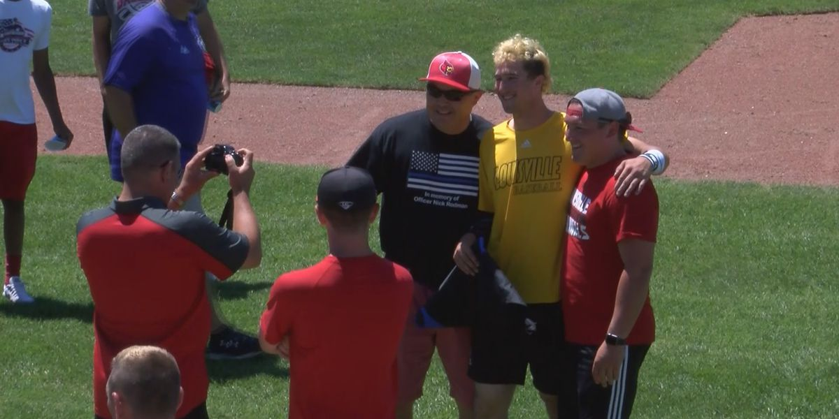 UofL honors fallen LMPD Officer Nick Rodman at College World Series
