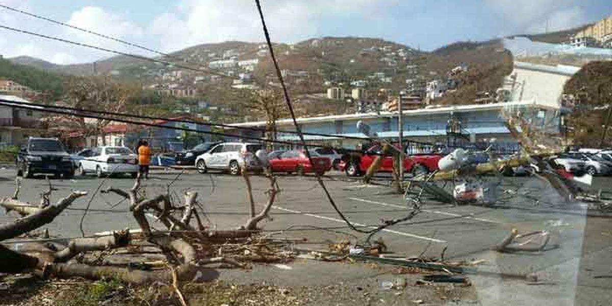 Louisville team of engineers hit by Hurricane Maria in the Virgin Islands