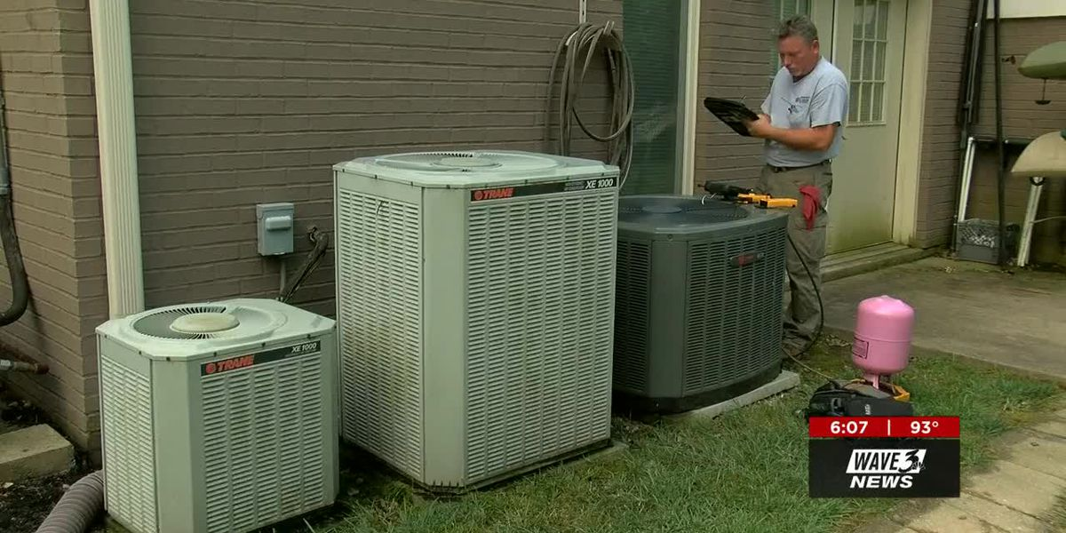 Some are without AC this summer