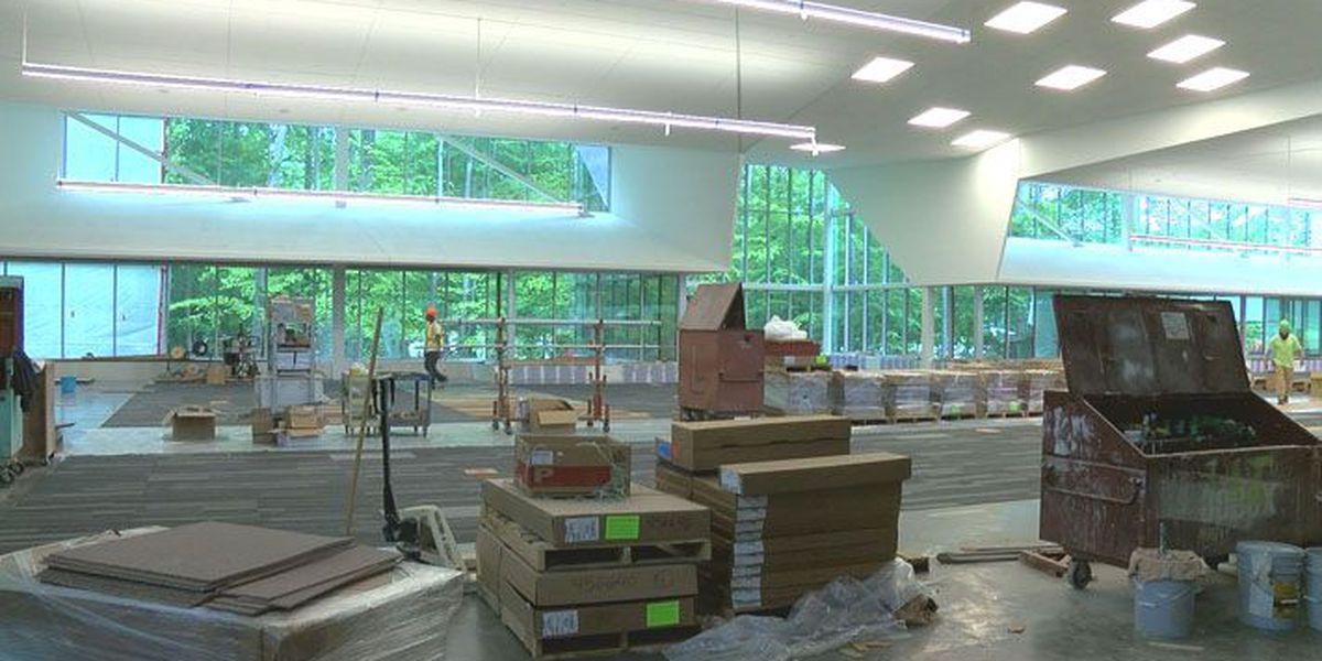 Newest Louisville public library nearing completion