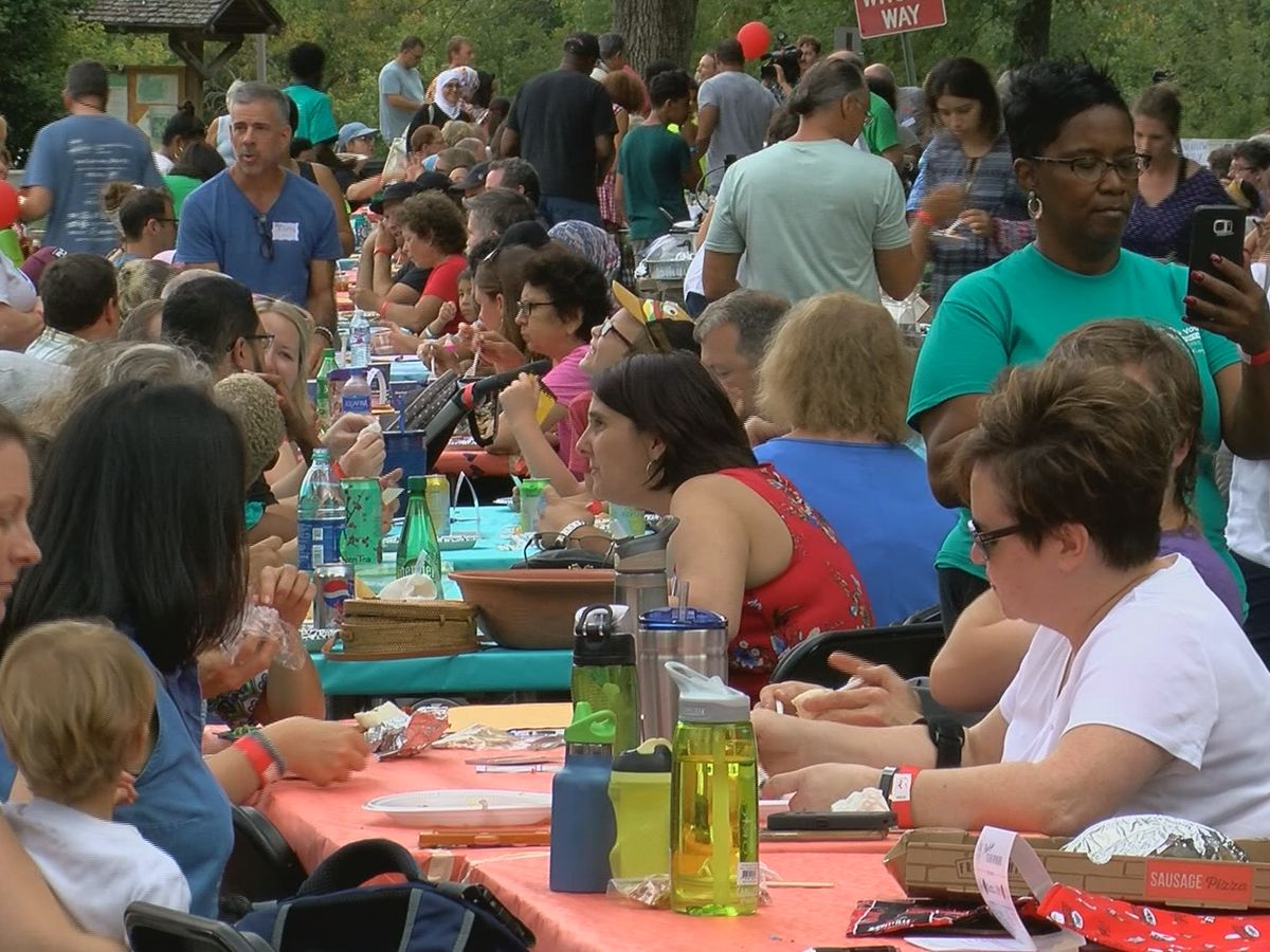 The Big Table brings people together with food and fellowship