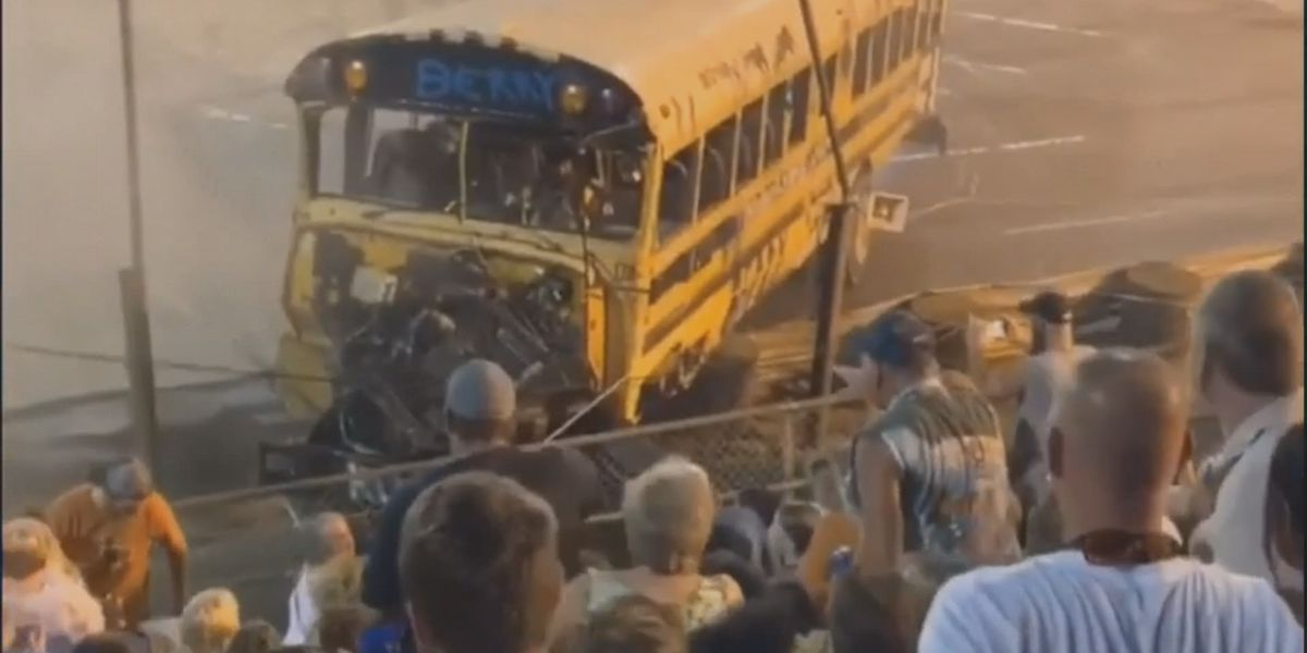Zombie School Bus races almost end in tragedy