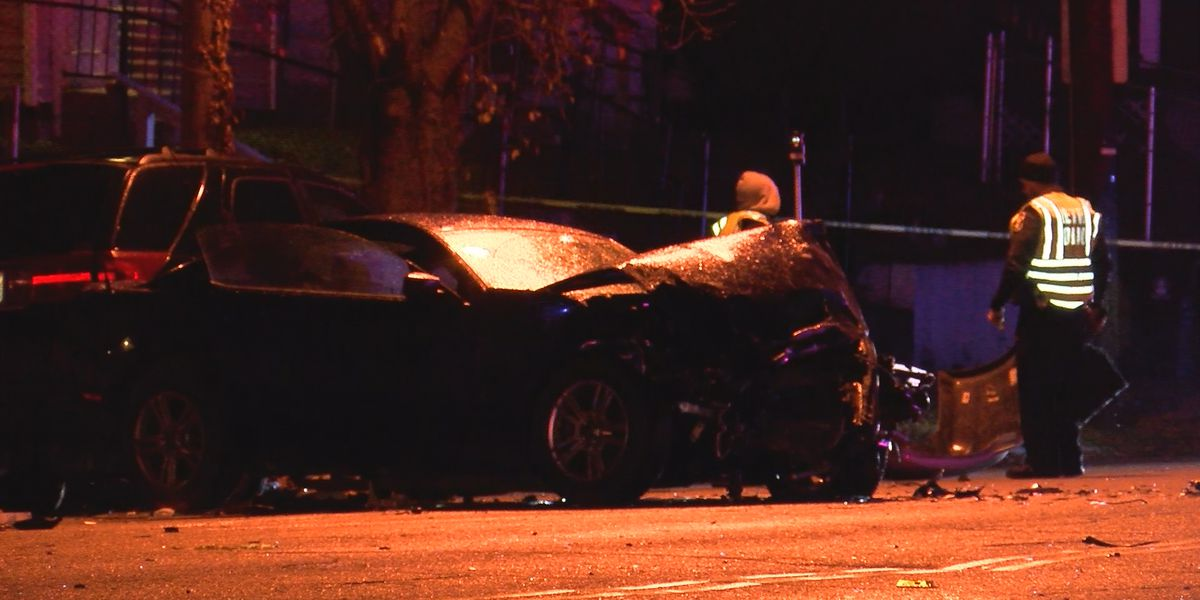 One person killed, four others injured in W Main Street crash
