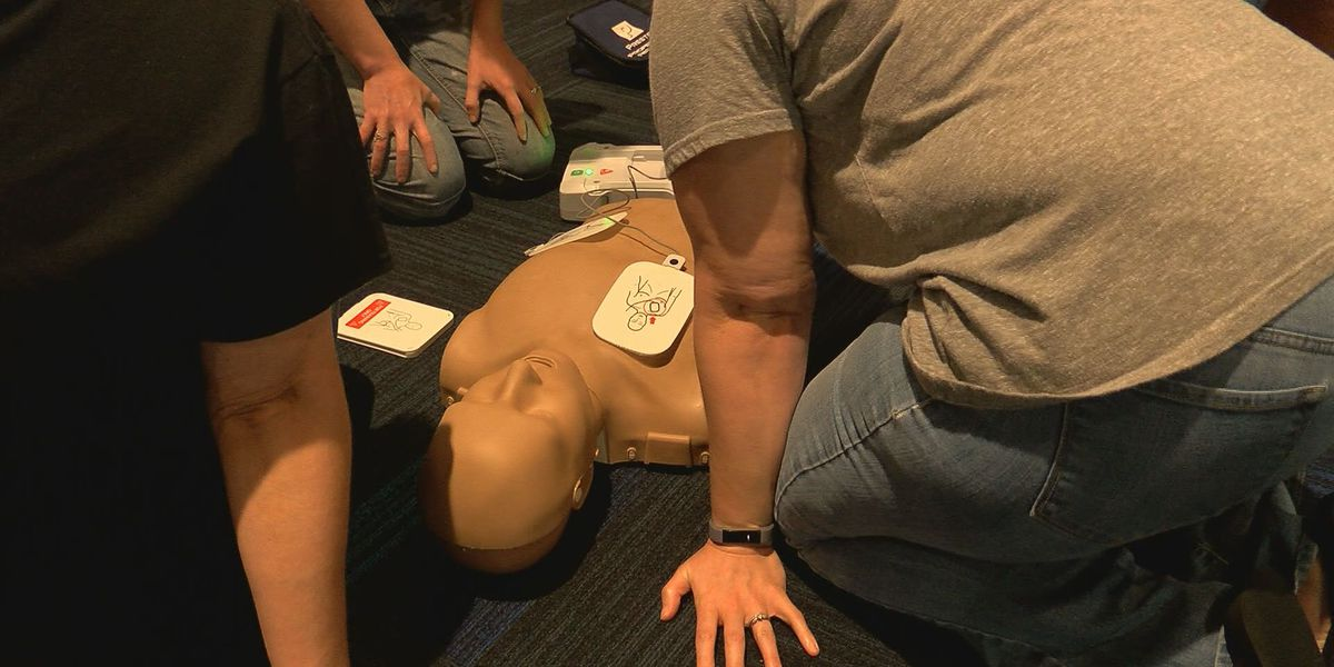 Mercy Academy held mandatory CPR class for teachers