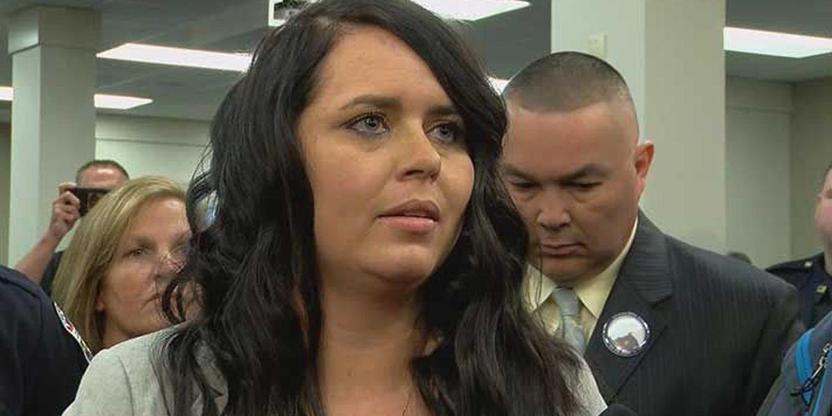 Widow of LMPD Officer Nick Rodman criticizes legislators