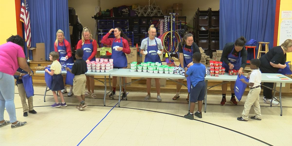 Blessings in a Backpack sends food home with 5,000 kids