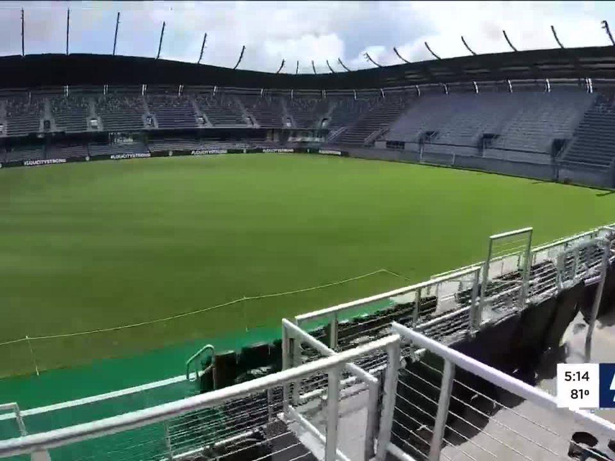 LouCity releases reduced capacity ticket plan for Lynn Family Stadium opener