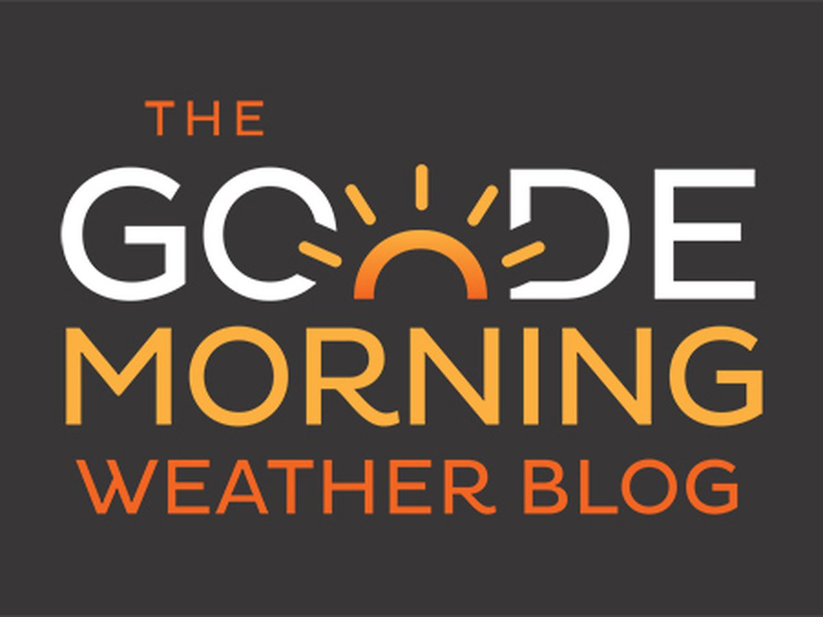 Goode Morning Weather Blog: Wednesday Update