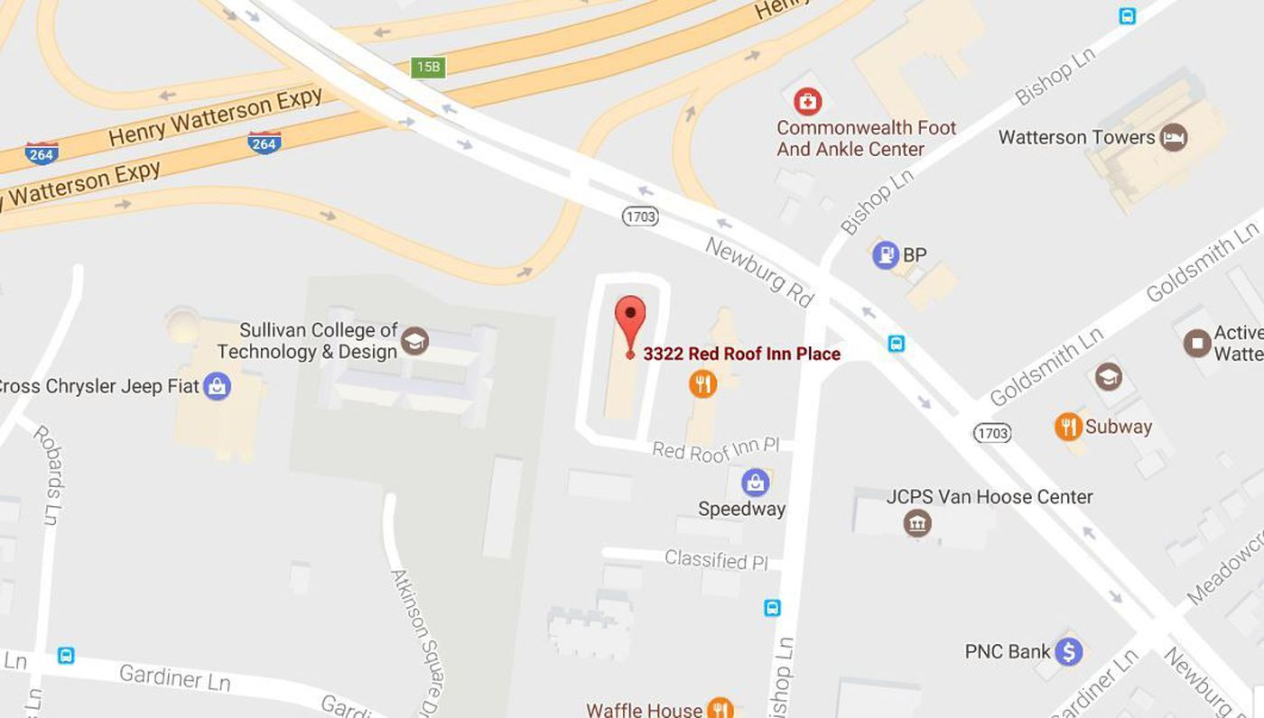 Red Roof Inn Location Map International Map