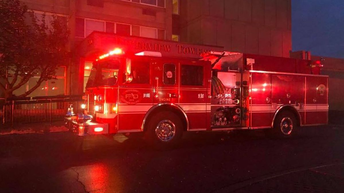 One person rescued from fire inside New Albany apartment