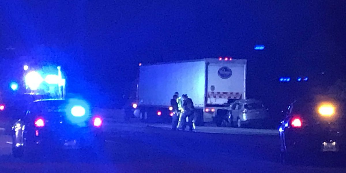 Crash with semi-truck kills 1 on Old Henry Road