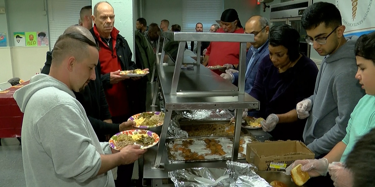 APPKI provides Thanksgiving lunch to men battling addiction