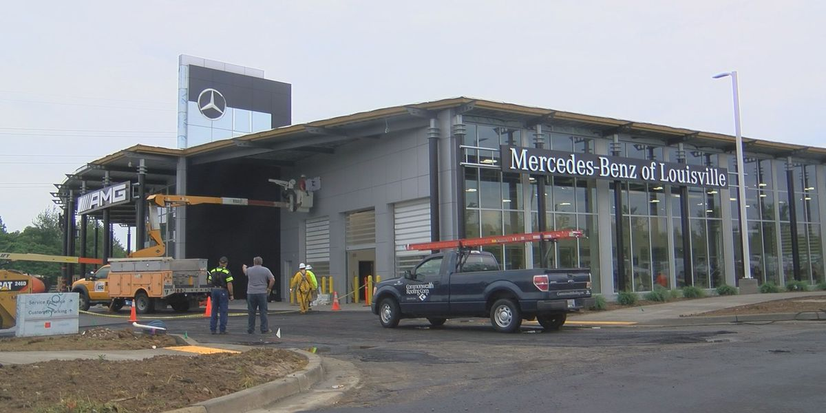 New Mercedes dealership opening in east Louisville