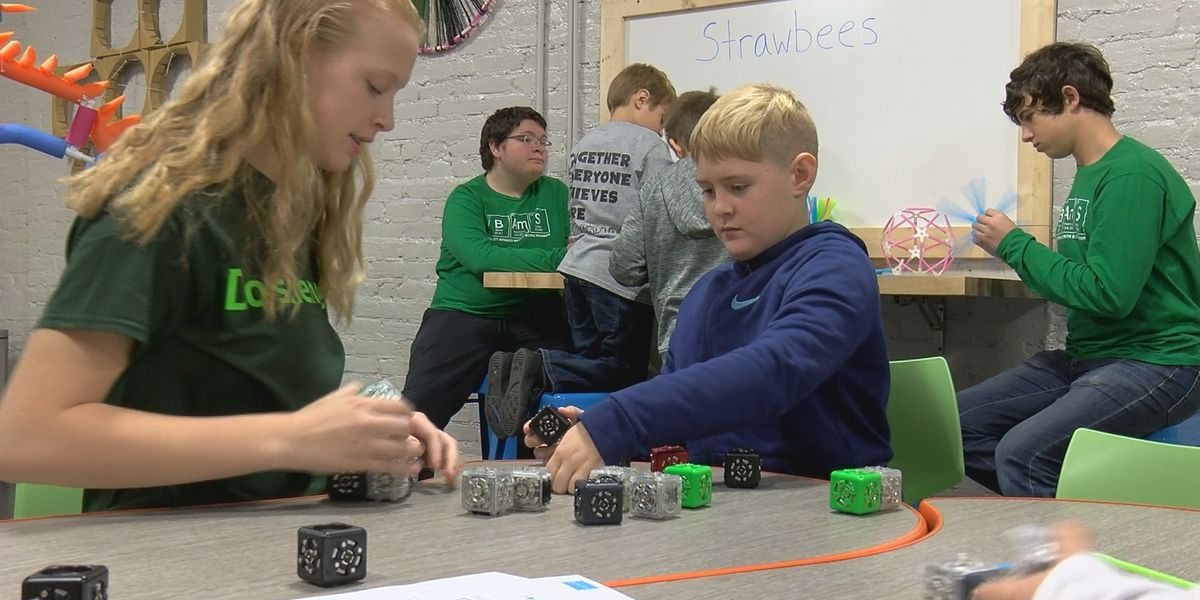 MakerSpace encourages kids to get creative at Kentucky Science Center