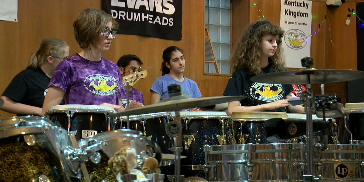 Louisville Leopard Percussionists presented with $10 thousand grant