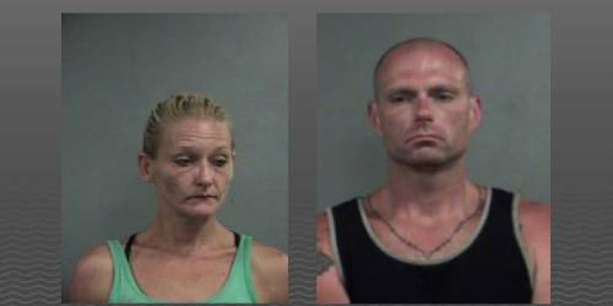 Louisville couple accused of dining and dashing on stolen motorcycle