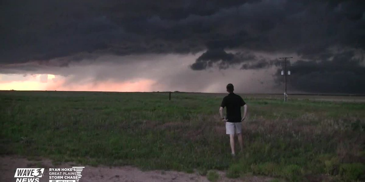 Storm Chase 2019 Blog (6/3) - Day 2 - More High Plains storms today