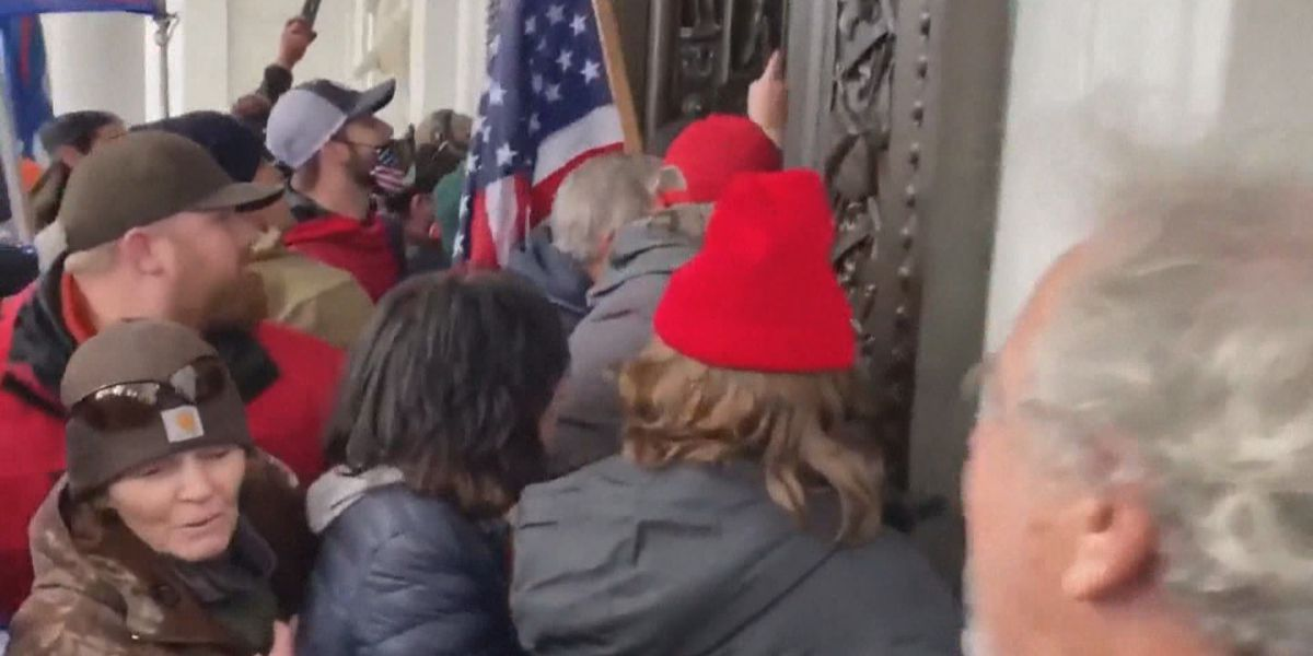 'Surreal and shocking': Kentucky Veteran's Club president reacts to Capitol protests